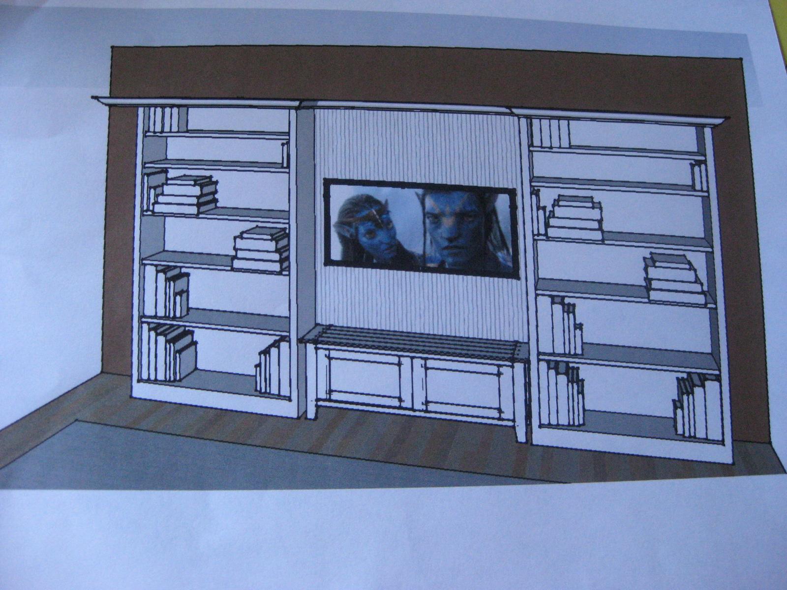Flat Screen Entertainment Center Plans