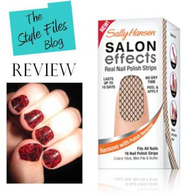 Sally Hansen Salon Effects Review via The Style Files blog
