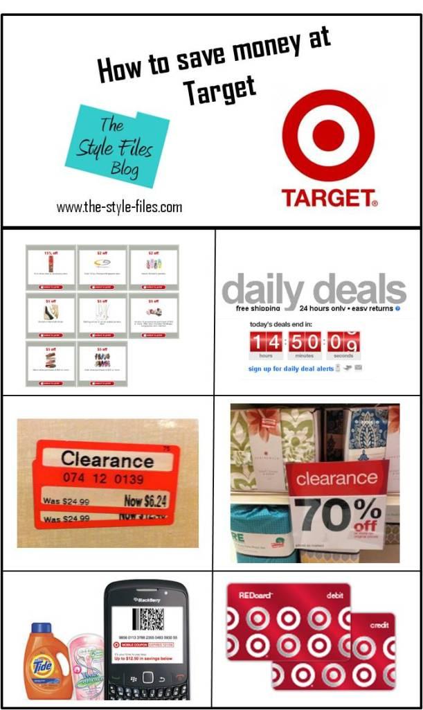 saving money at target